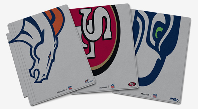 Microsoft Surface Special Edition NFL Type Covers