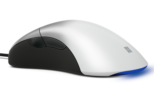 Microsoft Pro IntelliMouse in Shadow White