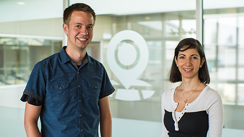 Meet Analy and Matt: Getting you there with Maps