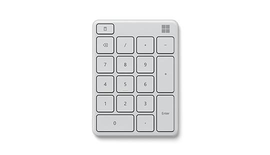 Microsoft Number Pad(빙하)