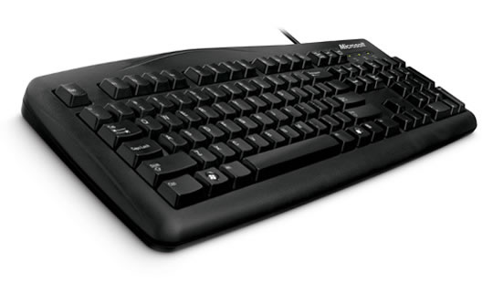 Wired Keyboard 200 para Empresas