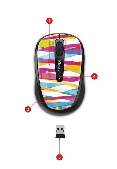 Wireless Mobile Mouse 3500 Limited Edition description