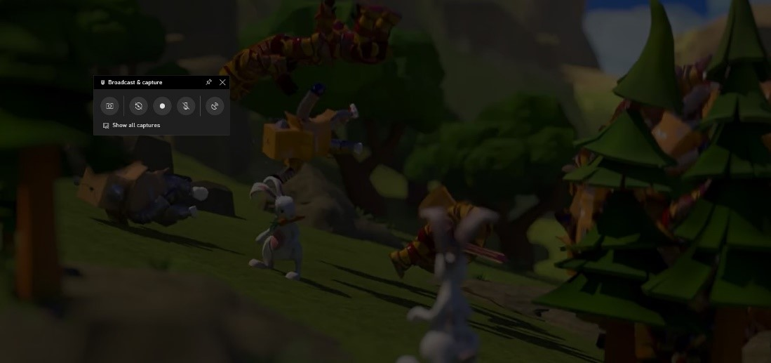 Game bar capture