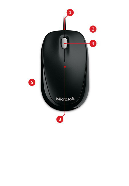 Compact Optical Mouse For Business Features