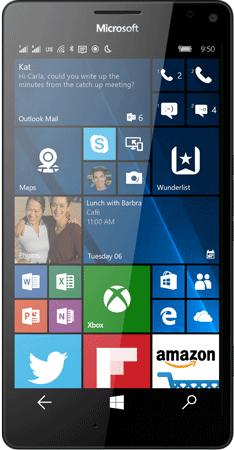 Microsoft Lumia 950 XL Dual SIM Specifications