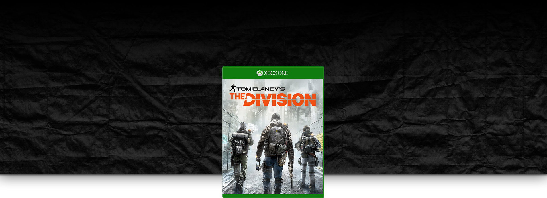 Tom Clancy's Division 外包裝圖