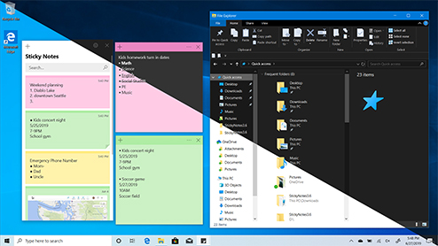Light and Dark themes in Windows 10