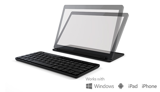 Microsoft universal mobile keyboard in black