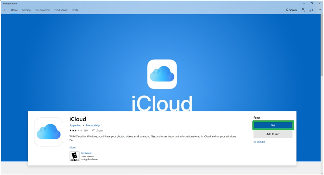 Get_iCloud app