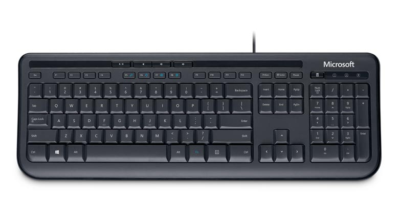 Microsoft Wired Keyboard 600 (ANB 00007) Achat Clavier PC