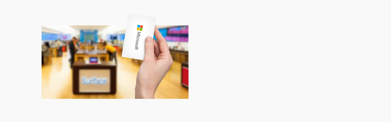 how to create a microsoft store fint