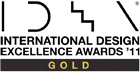 International Design Excellence Award 2011 Gold Logo