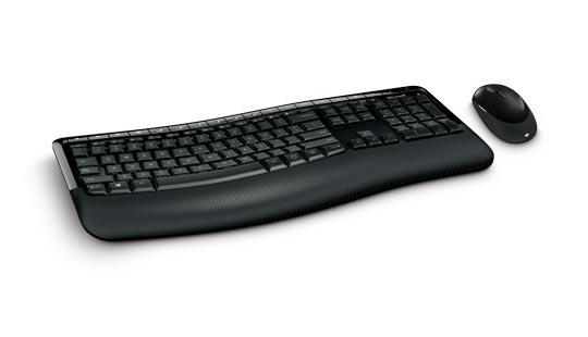 Microsoft Wireless Desktop 850 Advanced Encryption Standard Keyboard and Mouse