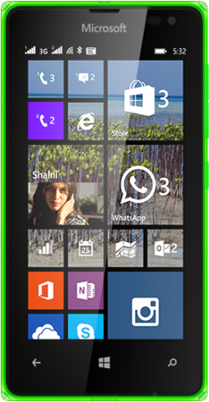Nokia LUMIA-532-DSIM-SPECS-GREEN