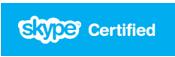 Certificado por Skype