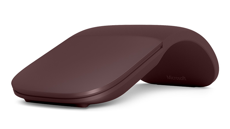 Surface Arc Mouse in Burgundy