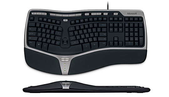 Image of Microsoft Ergonomic 4000+ keyboard