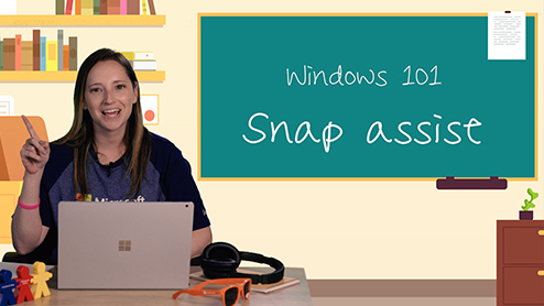 Windows 101: Multitasking made easy with Snap Assist