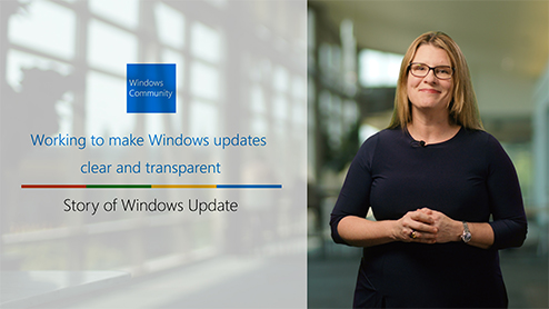 Working to make Windows updates clear and transparent