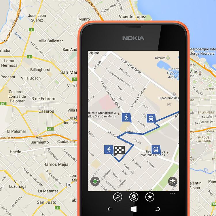 Navegación del Nokia Lumia 530