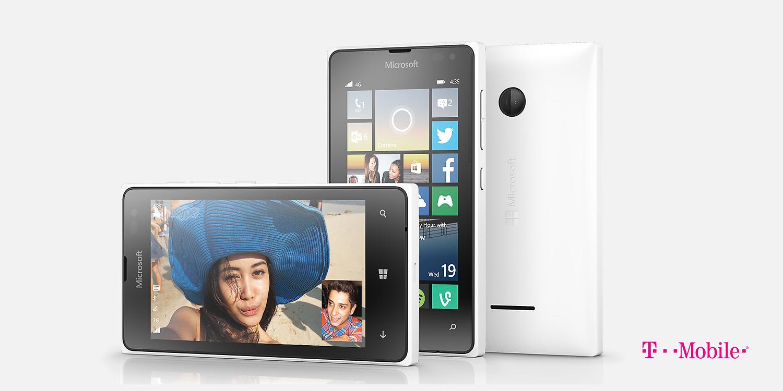 Lumia 435 product page