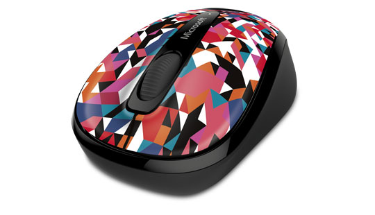 Microsoft Wireless Mobile Mouse 3500 Limited Edition in Geo Prism