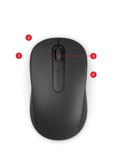 Microsoft Wireless Mouse 900 Features