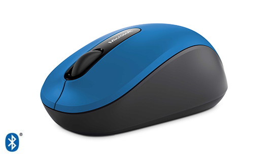 Microsoft Wireless Bluetooth Mobile Mouse 3600 in blue