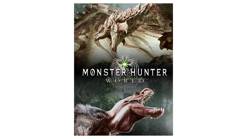 Monster Hunter World Digital Deluxe edition box shot