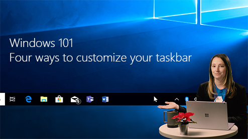 Windows 101: Four ways to customize your taskbar
