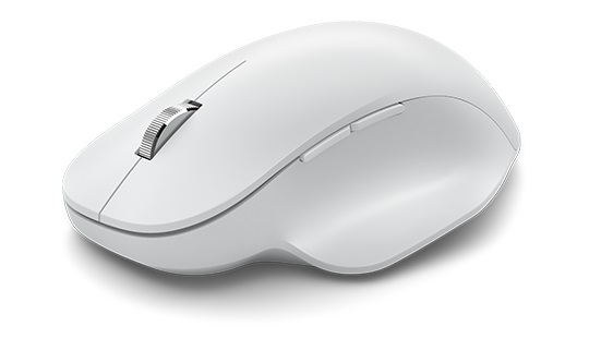 Microsoft Bluetooth® Ergonomic Mouse en glaciar