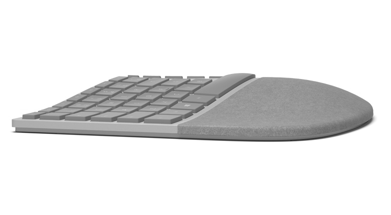 Microsoft Surface Ergonomic Keyboard Side View