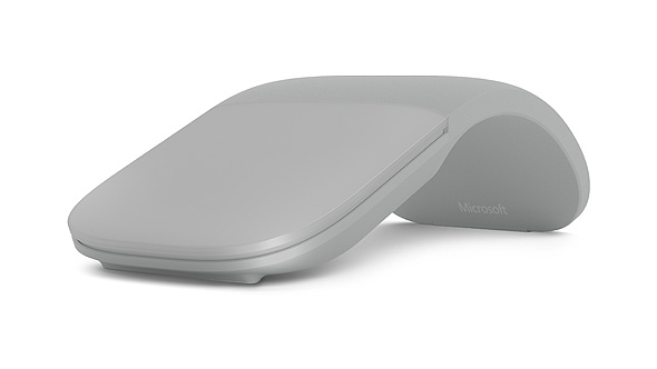 Surface Arc Mouse in Light Gray