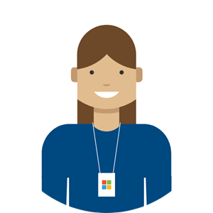 Illustration of the Microsoft Virtual Agent