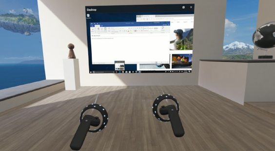 Using the Desktop app in mixed reality