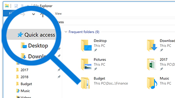 Productivity Pro Tip: Find files quickly using Quick access in File Explorer