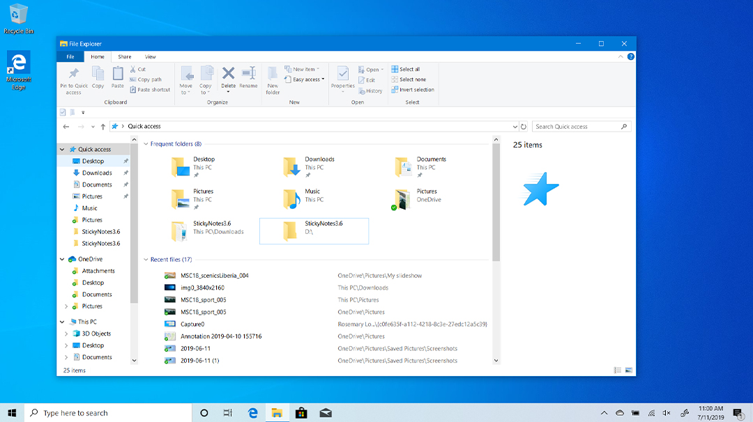 Organizing your digital life with File Explorer