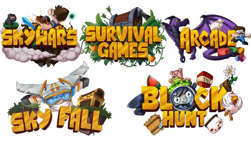 Minecraft Minigames Icons