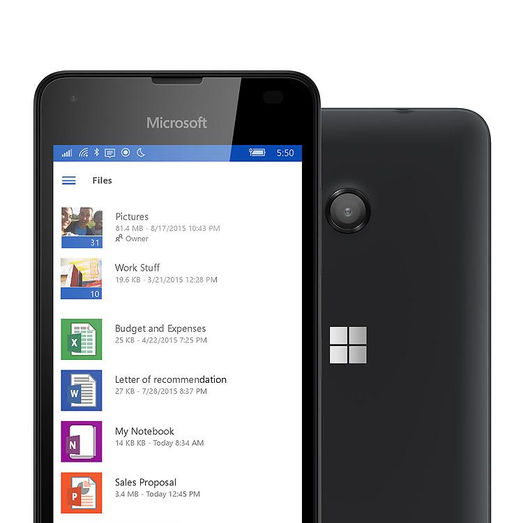lumia 550 g nstiges smartphone mit windows 10 microsoft. Black Bedroom Furniture Sets. Home Design Ideas