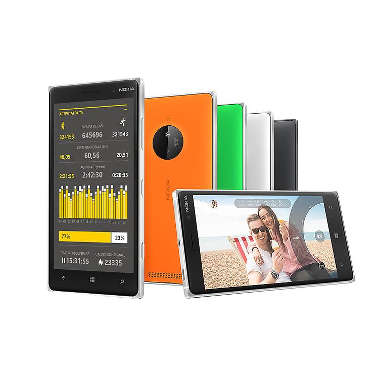 Nokia Lumia 830 Life Tracker Pro+ App