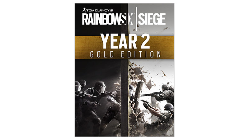 Rainbow Six Siege Gold edition boxshot