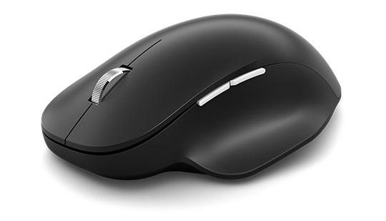 Microsoft Bluetooth® Ergonomic Mouse en negro