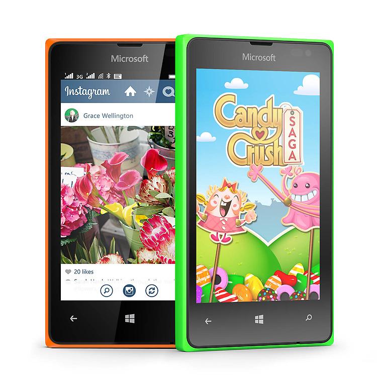 Microsoft Lumia 435 Dual SIM apps