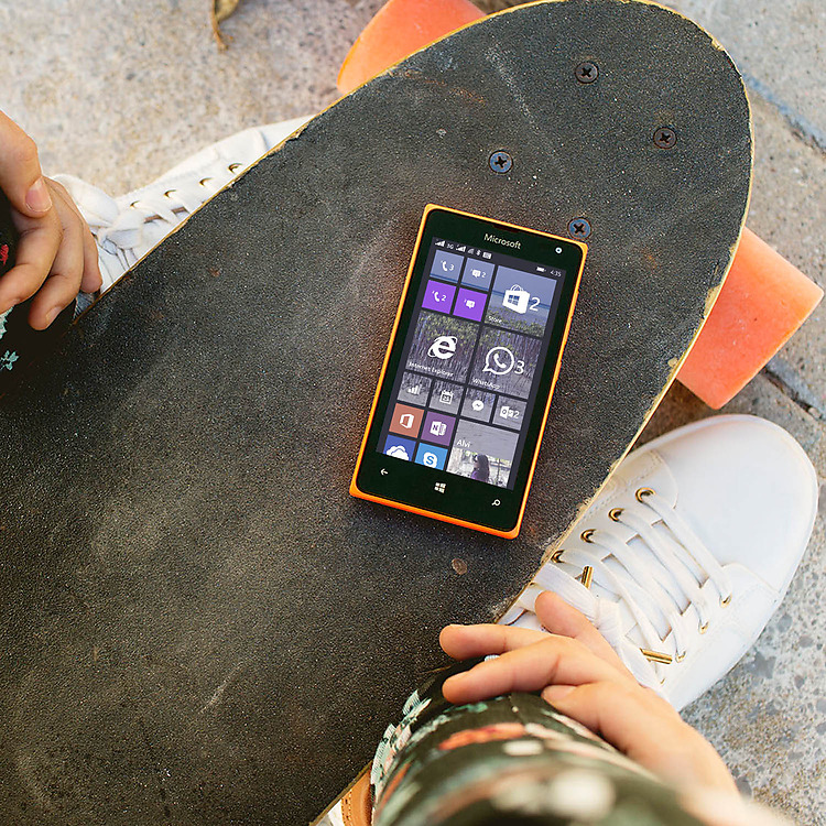 Microsoft Lumia 435 Dual SIM Homescreen